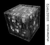 3d rendered complex structured... | Shutterstock . vector #1010275972