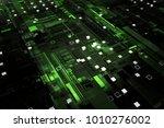 3d rendered complex structured... | Shutterstock . vector #1010276002
