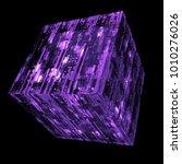 3d rendered complex structured... | Shutterstock . vector #1010276026