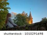 welcome to kaliningrad... | Shutterstock . vector #1010291698