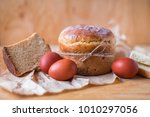 traditional orthodox easter...   Shutterstock . vector #1010297056