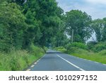 the long road concept. | Shutterstock . vector #1010297152