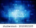 2d rendering stock market... | Shutterstock . vector #1010302105