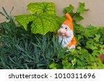 Garden Gnome Dwarf With White...