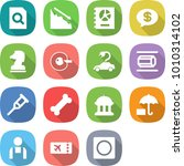 flat vector icon set   search... | Shutterstock .eps vector #1010314102