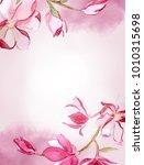 watercolor illustration.... | Shutterstock . vector #1010315698