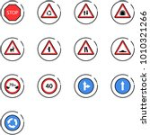 line vector icon set   stop... | Shutterstock .eps vector #1010321266