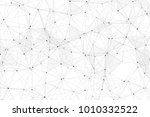white background with points ... | Shutterstock .eps vector #1010332522