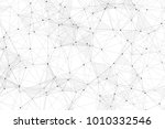 white background with points ... | Shutterstock .eps vector #1010332546