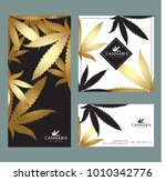 marijuana   cannabis logo... | Shutterstock .eps vector #1010342776