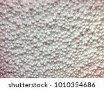 blurred foam beads texture ... | Shutterstock . vector #1010354686