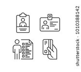 business icons set | Shutterstock .eps vector #1010388142