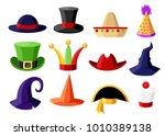fun carnival festive collection ...   Shutterstock .eps vector #1010389138