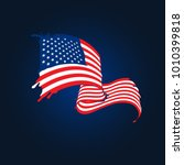 Amazing American Flag With...