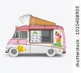3d render machines for ice...   Shutterstock . vector #1010408905