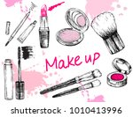 beauty store collection with... | Shutterstock .eps vector #1010413996