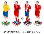 russia 2018 soccer world cup... | Shutterstock .eps vector #1010418772
