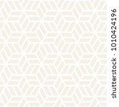 vector seamless subtle pattern. ... | Shutterstock .eps vector #1010424196