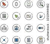 line vector icon set  ... | Shutterstock .eps vector #1010444482