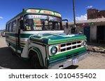 la paz  bolivia   february 20... | Shutterstock . vector #1010455402
