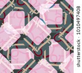 new colorful seamless pattern... | Shutterstock .eps vector #1010497408