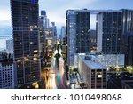 cityscape of miami downtown ... | Shutterstock . vector #1010498068