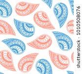seamless pattern of beautiful... | Shutterstock .eps vector #1010508076
