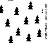 seamless patterns with black...   Shutterstock .eps vector #1010516485