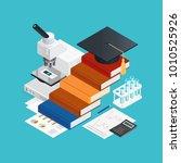 learning isometric design... | Shutterstock . vector #1010525926
