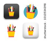 flat vector icon   illustration ... | Shutterstock .eps vector #1010534398