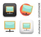 flat vector icon   illustration ... | Shutterstock .eps vector #1010534608