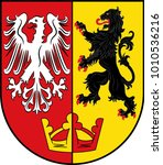 coat of arms of bad neuenahr... | Shutterstock .eps vector #1010536216
