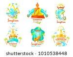 concept for travel agency ...   Shutterstock .eps vector #1010538448