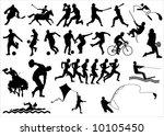 sports | Shutterstock . vector #10105450
