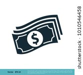 money icon vector logo template | Shutterstock .eps vector #1010546458