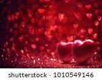 valentine's day background.... | Shutterstock . vector #1010549146