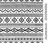 seamless ethnic pattern.... | Shutterstock .eps vector #1010564002