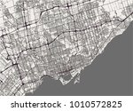 vector map of the city of... | Shutterstock .eps vector #1010572825