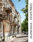 lviv center   ukraine | Shutterstock . vector #1010578822