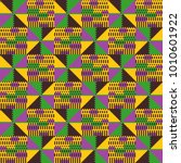 tribal vector pattern.... | Shutterstock .eps vector #1010601922