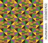 tribal vector pattern.... | Shutterstock .eps vector #1010601922
