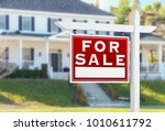 left facing for sale real... | Shutterstock . vector #1010611792