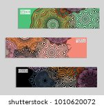 ethnic banners template with... | Shutterstock .eps vector #1010620072