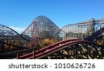 Rollercoaster In Six Flags By...