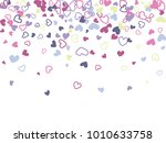 blue and pink valentine's day...   Shutterstock .eps vector #1010633758