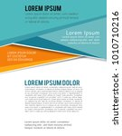 magazine or brochure  vector...   Shutterstock .eps vector #1010710216