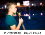 blurred for background night... | Shutterstock . vector #1010714185