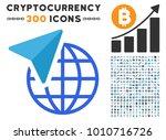 global freelance pictograph... | Shutterstock .eps vector #1010716726