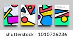placard templates set with... | Shutterstock .eps vector #1010726236