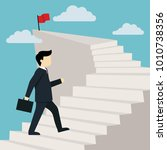 stairway to success illustration